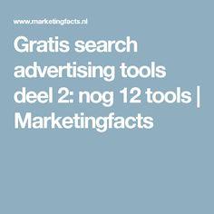 Gratis search advertising tools deel 2: nog 12 tools | Marketingfacts