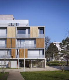 38 Residências Sociais em Eaubonne / LEM +