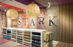 Bespoke giant globe lampshades for Stark Carpets - Decorex 2014 - Copper & Silk Interior, Lampshades, Lighting Design, Bespoke Lighting, Light Decorations, Interior Designers, Storage, Service Design, Light Project