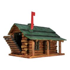 Log Cabin Mailbox ... very cute but I wouldn't pay $200 for something you could closely duplicate with Lincoln logs..
