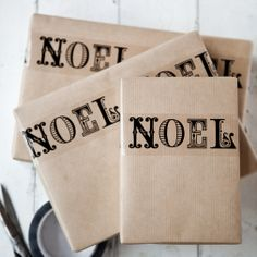 Noel tape  #Christmas #giftwrapping