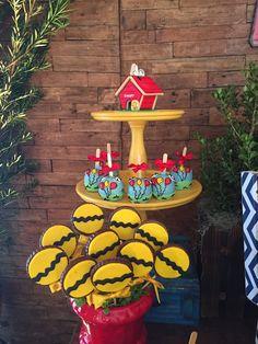Olha que perfeição esta Festa Snoopy!!Imagens Maria Exibida Comemorações.Lindas ideias e muita inspiração!Bjs, Fabíola Teles.Mais ideias lindas: Maria Exibida Comemorações.Instagram:...