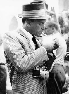Frank Sinatra in Berlin c. 1960