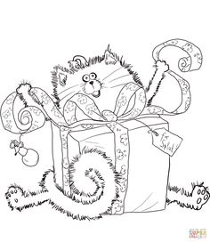 merry christmas splat coloring page from splat the cat category select from 25683 printable crafts of cartoons nature animals bible and many more