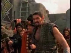 Xena: Gab  fights against Ares (She's a Rebel by Green Day)