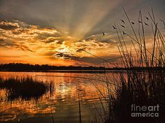 Evening Calm by Kelley Freel-Ebner