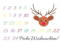 DIY Adventskalender in einer Streichholzschachtel Free Printable