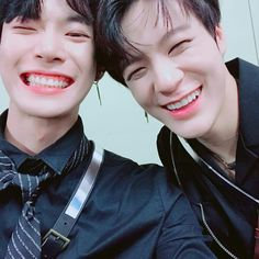 doyoung and jeno black on black