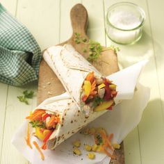 Wrap de dinde | Recette Minceur | Weight Watchers