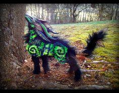 --SOLD-- YouTube Video! Poseable Forest Wolf! by Wood-Splitter-Lee.deviantart.com on @deviantART