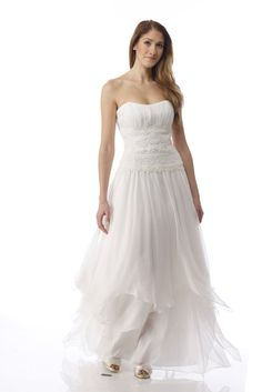 SYDNEY  Bridal wedding gown by TheCottonBride on Etsy, $1625.00
