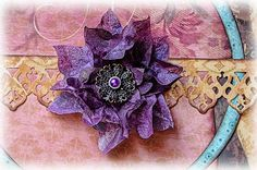 What A Beautiful Mess: Paper Bag Flower Tutorial