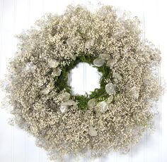 Baby's Breath Wreath by summersweetboutique, $48.00