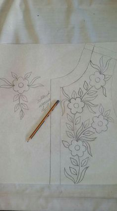 Have Fun with Silk-Ribbon Embroidery - Embroidery Patterns Hand Embroidery Design Patterns, Diy Bead Embroidery, Zardozi Embroidery, Embroidery On Kurtis, Tambour Embroidery, Embroidery On Clothes, Embroidery Transfers, Learn Embroidery, Hand Embroidery Patterns