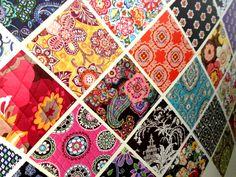 vera bradley Vera Bradley Patterns, Love Fashion, Fabrics, Quilts, Tattoos, My Style, Crafts, Bags, Life