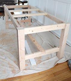 terassentisch aus massiver fichte bauanleitung selber machen bauanleitung pinterest. Black Bedroom Furniture Sets. Home Design Ideas