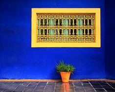 The Majorelle Garden (Arabic: حديقة ماجوريل‎) is a twelve-acre botanical garden and artist's landscape garden in Marrakech, Morocco. It was designed by the expatriate French artist Jacques Majorelle in the 1920s and 1930s, during the colonial period when Morocco was a protectorate of France.