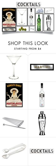 """Deconstructing the Martini"" by prettyraveghost ❤ liked on Polyvore featuring interior, interiors, interior design, home, home decor, interior decorating, Trademark Fine Art, Sur La Table, L'Atelier du Vin and Ralph Lauren Home"
