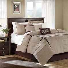 New bedroom comforter set...will have contrasting sage walls.