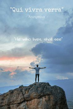 qui viva versa he who lives
