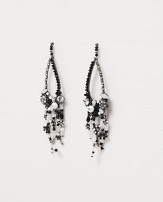 ZARA - WOMAN - LONG TEARDROP EARRING