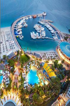 Jumeirah Beach, Dubai,  Penthouse View