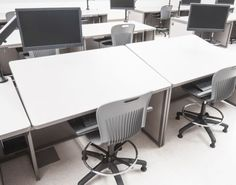 Drafting/CAD workstations by Interior Concepts.
