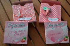 Anjas-Stempelwelt * Unabhängige Stampin'Up Demonstratorin aus der Lutherstadt Wittenberg* : Kleine Yogurette Verpackungen ! (Chocolate Box Packing)
