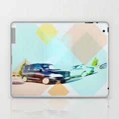 Parking Laptop & iPad Skin by Miguel Á. Núñez I. - $25.00