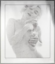 View Marilyn Monroe with Roses (from the Last Sitting) By Bert Stern; Silkscreen on gold foil paper; Access more artwork lots and estimated & realized auction prices on MutualArt. Marilyn Monroe 1962, Bert Stern, Win Online, Dark Ink, Norma Jeane, Beautiful Mind, Beautiful Creatures, Actresses, Celebrities