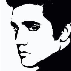 Elvis Silhouette Stencils - Bing Images