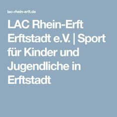 LAC Rhein-Erft Erftstadt e.V.   Sport für Kinder und Jugendliche in Erftstadt