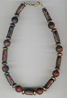 Trade Bead Necklace 6 from ATB