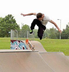 Evening in Solihull –Skateboarding