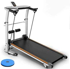 Kedorle Folding Mechanical Treadmill with Handrails Home machine Indoor Sports Fitness Equipment Compact Fitness Running… Mechanical treadmill: This can be a mec... Running Machines, Workout Machines, Walking Exercise, No Equipment Workout, Fitness Equipment, At Home Gym, Multifunctional, Indoor, Weight Loss