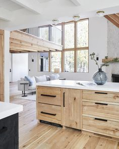 Before & After: Our Scandinavian-Inspired Mountain House Kitchen Remodel - Home Remodeling Ideas Home Renovation, Home Remodeling, Diy Kitchen, Kitchen Decor, Design Kitchen, Earthy Kitchen, White Oak Kitchen, Warm Kitchen, Kitchen Themes
