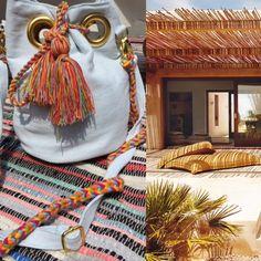 www.mo-nique.nl buy at www.wayuumochila.nl Jeans hippibag & Handmade wayuu tassels