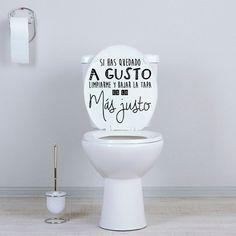 Quieres darle un toque original a tus baños o aseos  . En Vinilos Casa ® te  proponemos este simpático