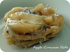 15 Minute Apple Cinnamon Rolls