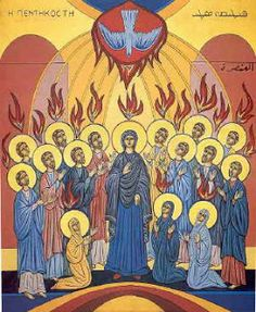 Pentecost is a holiday on which they commemorate the coming of the Holy Sprite on the early followers of Jesus.