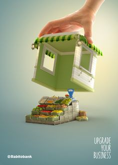 Rabita Bank - AD by Black Brother, via Behance