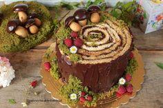 Dream Party, Box Cake, Amazing Cakes, Fondant, Gingerbread, Deserts, Tree Bark, 18th, Heaven