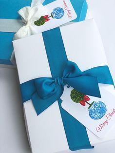 Boxwood Christmas Gift Tags Set of 10