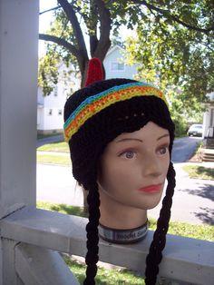 Native Princess Hat InfantAdult by karenswimmer on Etsy, $20.00