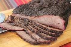 Traeger's Amazing Midnight Brisket