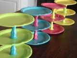 Cute and inexpensive cake stands/serving trays