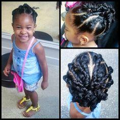Peachy Little Girl Hairstyles Hairstyles And Girls On Pinterest Short Hairstyles Gunalazisus
