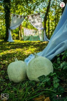 A tökös koncepció már a bejáratnál is fellelhető. A bohém esküvőn, szinte bármit lehet!