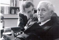 Emil Cioran and Ernst Jünger Emil Cioran, Jean Paul Sartre, Writers And Poets, Karl Marx, One Decade, Literature Books, The Lives Of Others, Charles Darwin, Friedrich Nietzsche