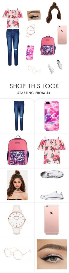 """""""summer is almost over😣"""" by theycallmemandy ❤ liked on Polyvore featuring City Chic, Casetify, Vera Bradley, Dolce&Gabbana, Missguided, Converse, Abbott Lyon, Full Tilt and plus size clothing"""